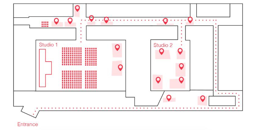 TEDxZurich 2017 Audience Experience – Studio 2
