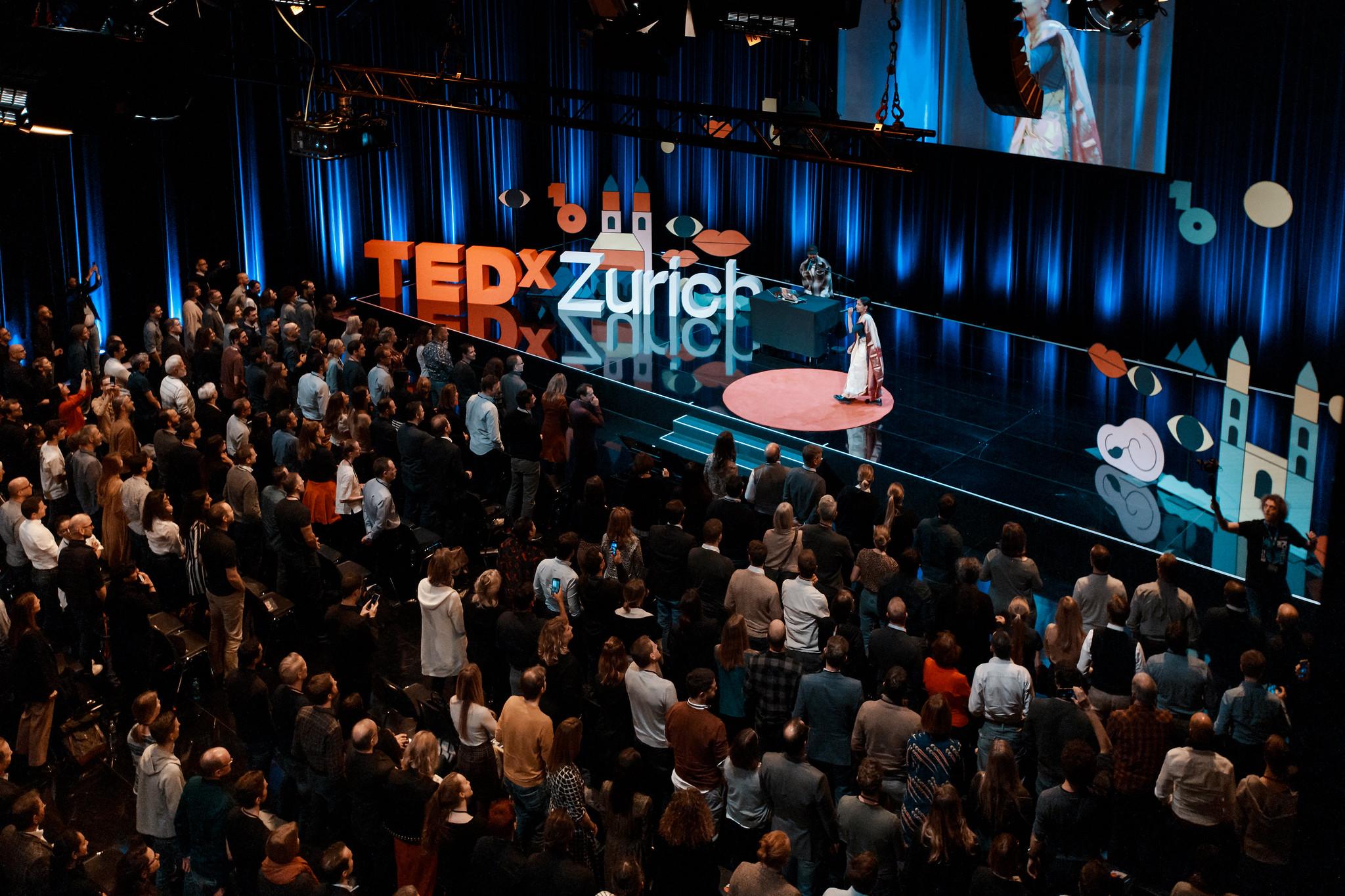 TEDx Zurich Homepage